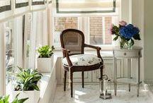 WINDOW TREATMENTS / Curtains, shades, valances, embellishments...