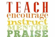 To Teach / Teaching resources and inspiration / by Allyson Hughes