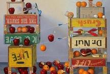 Food in Art / Art representations of edibles