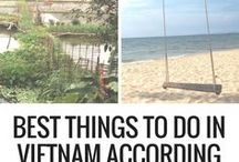 Vietnam Love / It's time to go to Asia! Here's what to do in Vietnam to ensure you have an awesome time and get to see as much as possible in a two-week break.