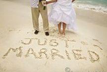 Beach Wedding Ideas /  Ideas for a beach wedding!