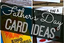 Father's Day Ideas / The best Father's Day gifts come from the heart! Create homemade Father's Day gifts with unique present ideas that Dad will love! / by CutRateCrafts