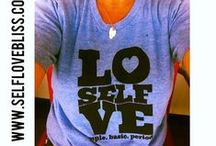 ❤self love bliss t-shirts