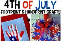4th Of July Freedom Fun / Happy Fourth of July! Celebrate America with cool red, white and blue crafts, party tips, Fourth of July ideas, and more! / by CutRateCrafts