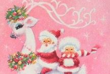 vintage christmas cards / by Angela Barrier