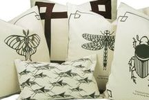 THE BUG CHICKS COLLECTION by STUDIO TULLIA / STUDIO TULLIA in collaboration with The Bug Chicks is proud to present our collection of bug inspired pillows and accessories for Summer of 2017. The collection features illustrations from The Bug Chicks screen printed onto canvas.    Each item sold comes with an information card about the featured bug. Our collection also offers a field bag, canvas totes and more.