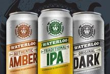 Packaging –– Beer / Collection of beer beverage packaging design.