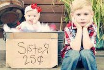 Kid Portrait Ideas / Ideas for Kid Portraits we found on Pinterest!