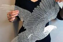《Paper Art》 / Awesome stuff :3
