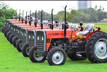 TAFE Tractors / TAFE - Tractors and Farm Equipment Limited | An INR 96 bn company | World's third largest manufacturer of tractors | Second largest tractor manufacturer in India | Exports to over 80 countries. / by TAFE - Tractors and Farm Equipment Limited