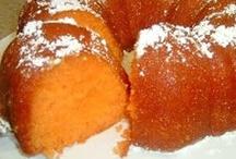 Cakes ~ Orange / by Leona Dykes