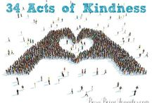 Be A Blessing / Random Acts of Kindness ideas to brighten someones day / by Tara Shaffer