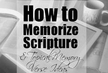 Scripture to memorize..... / by Tara Shaffer