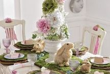Hippity Hoppity! / Easter and Spring, tablescapes, recipes, décor, gifts / by Janine Henson