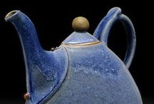 Ceramic Teapots / Porcelain, clay, ceramic teapots and a few other pieces of artwork, too.