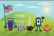 Our Work - Obots / Here's all of the illustrations, drawings, and various designs of our mascots, the Obots.