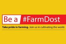 Be a #FarmDost / TAFE's #FarmDost-Initiative aims to create an environment of admiration and respect towards the Farming community and the profession of Farming. facebook.com/FarmDost / by TAFE - Tractors and Farm Equipment Limited