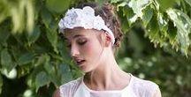 Accessoires de cheveux Mariage / Nos accessoires, entièrement réalisés à la main, pour vous sublimer le jour J  http://valerievalentine.fr/29-mariage