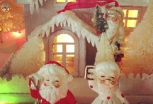 Vintage Holiday Decorations / by Vicki Baker