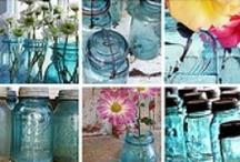 Blue Glass / by Vicki Baker