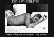Winchester's & Other Sexy Men I Adore / Jensen Ackles, Harrison Ford, Jared Padalecki.... some Sam Elliot thrown in for good measure...oh, and Robert Downey Jr. <3 / by Vicki Baker