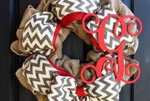 Wreath ideas / by Valerie Perales