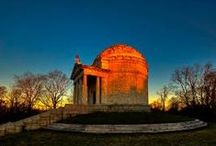 Vicksburg National Military Park / The park commemorates the campaign, siege, and defense of Vicksburg in 1863 and includes over 1,340 monuments and markers, a 16-mile tour road, a restored Union gunboat, and a National Cemetery.