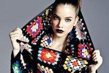 Crochet clothing.