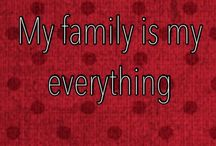 I Love My Family! / Because they're the best! / by Aspen Hedges