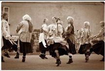 """Morris Dancing / Lovely English tradition of Morris dancing (Cotswold, Border, Clogs, Molly, """"and Old Uncle Cobley and al'"""")"""