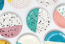 Quiet Clementine / Playful ceramic decor and jewelry for color enthusiasts