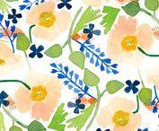 Lindsay Gardner Pattern / Patterns from my portfolio.