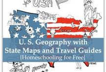 Geography / Georgraphy ideas, curriculum, and lessons for homeschooling.