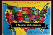 Apps - Geography / by The Old Schoolhouse Magazine