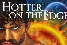 HOTTER ON THE EDGE / An anthology of science fiction romance novellas