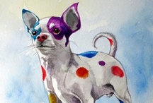 Cute Chihuahua Related Items! / Chihuahuas! Chi-mixes! Small Dogs!  Great items related to Chihuahuas! / by Little Mingo