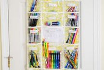Homeschool Storage Solutions / Homeschool Storage Solutions and ways to organize your homeschooling and homeschool supplies