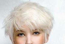 short hair / by Kelly Jane Creative