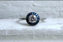 Something blue   Algo azul / Vintage sapphire rings, earrings, bracelets... Anillos, pulseras, pendientes vintage de zafiros azules