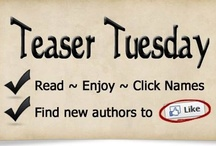 Teaser Tuesdays! / Learn more about these great romance novels!