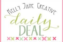 Clipart Daily Deal / by Kelly Jane Creative