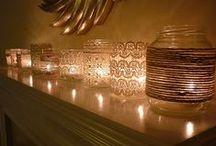 Mason Jar Crafts. / by Jess