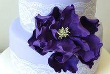 Purple Wedding Inspiration / Amethyst, Wisteria, Lilac, Eggplant, oh my! I love purple wedding inspiration!