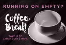 Kelly's Coffee Break / Need a jump for your Monday? Having a hard time with hump day? Take a coffee break! Some inspiration, laughs, tears and a swift kick in the ass to get you moving. / by Kelly Jane Creative