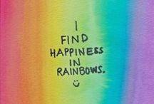 Colors & Rainbows!!