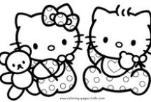 Crafty (Hello Kitty) Coloring