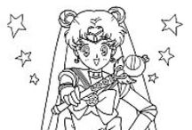Crafty (Sailor Moon) Coloring