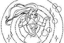 Crafty (80's She-Ra) Coloring