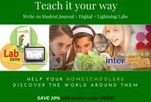 Homeschool Deals- n –Steals / Anything having to do with homeschooling, home, parents, moms, dads  family... That is not at regular price.
