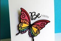 Card Making Inspiration / Handmade, Homemade Card Ideas, Birthday, Sympathy, Invitations